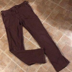 American Eagle slim straight cotton pants 29/32